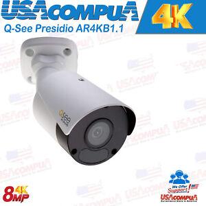 NEW Presidio AR4KB1.1 4K Ultra HD IP Outdoor Bullet Camera W// Color Night Vision