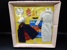 1962 vintage Mattel Barbie Registered NURSE outfit 991 mip SEALED moc set mint !