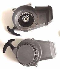 Tuning Seilzugstarter Starter Silber aus Metall (Aluminium) Stabil  Pocket-Bike