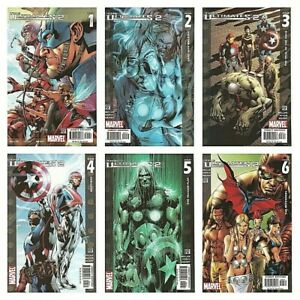 ° The Ultimates 2 #1 hasta 13 de 13 ° Marvel estados unidos 2005 Mark Millar