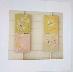 Pottery Barn Hummingbird Romantic Spring Plaque Pb