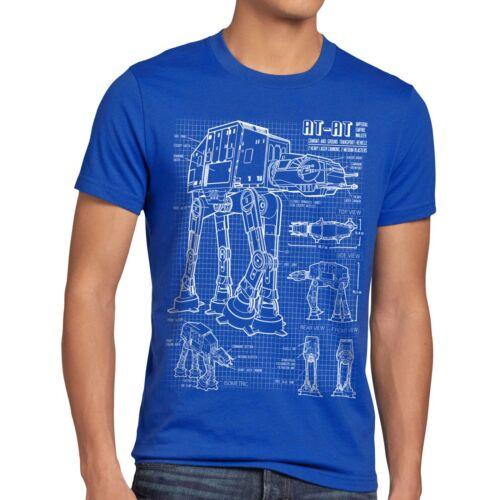 AT-AT T-Shirt Hommes IMAGE Walker Star guerre wars empire des étoiles Vador
