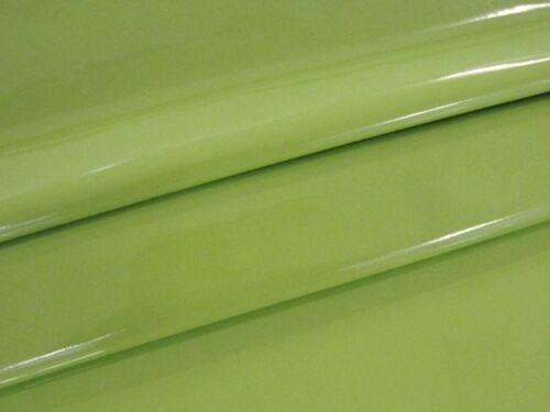 Barniz imitación cuero elástico suave alta brillante METERWARE kiwi EUR 10,99//m