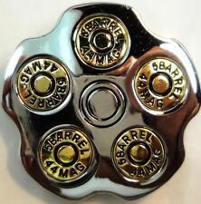 """REVOLVER 5 SHOT 44 MAG BARREL """"SPINNER"""" BELT BUCKLE"""