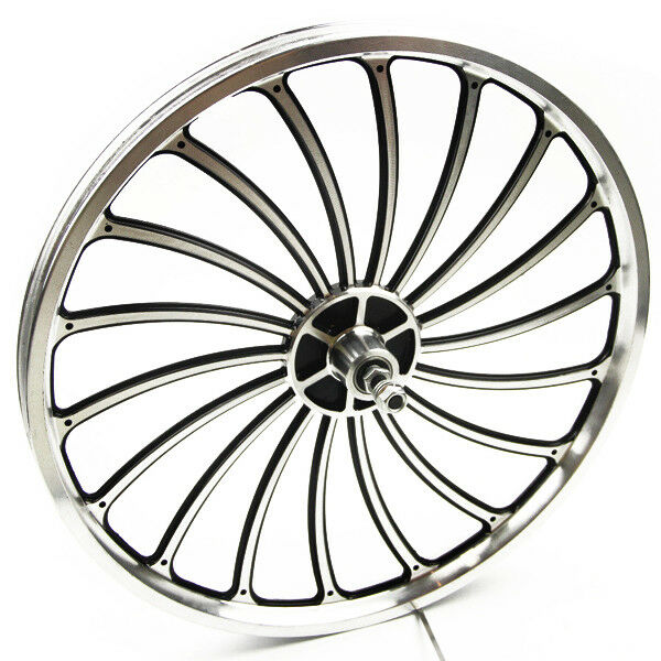 Aluminum Bicycle Front or Rear Wheel 20 X 1.75  2.125 2.5'' eBike Chopper Durable  best choice
