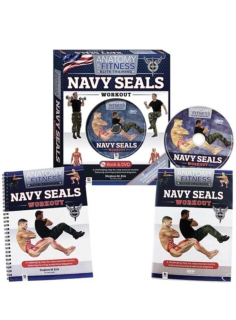 Navy Seals Workout - Anatomy of Fitness Elite Training DVD and 64 Page Log  Book
