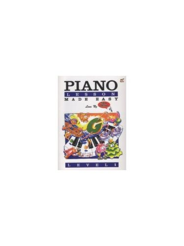 Piano Lessons Made Easy Level One Learn to Play Piano SHEET MUSIC BOOK Lina Ng