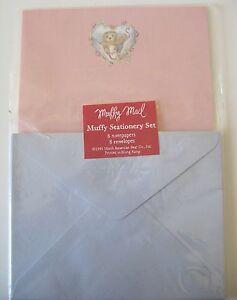 MUFFY VANDERBEAR-MUFFY MAIL STATIONERY SET NEW! FROM 1992