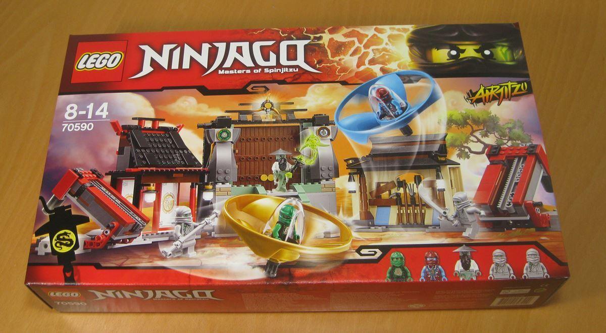 LEGO® 70590 NINJAGO™ Airjitzu Turnierarena