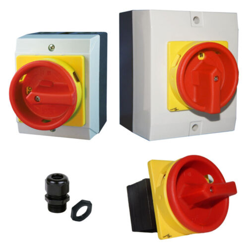 Hauptschalter 4-polig  AP//UP Not-Aus-Schalter Tor Steuerung Tor Antrieb Rolltor