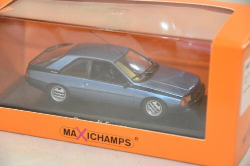 RENAULT FUEGO MINICHAMPS MAXICHAMPS 940113520 1984 BLUE METAL  1//43