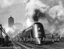 New York Central Train photo Vanderbilt Railroad 20th Century LTD  art deco