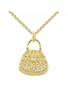 Designer-Purse-Diamond-Pendant-Necklace-in-14K-Yellow-Gold-With-18-034-Chain-LP1016