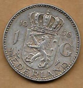1 Gulden Argent 1956 Divers ModèLes RéCents