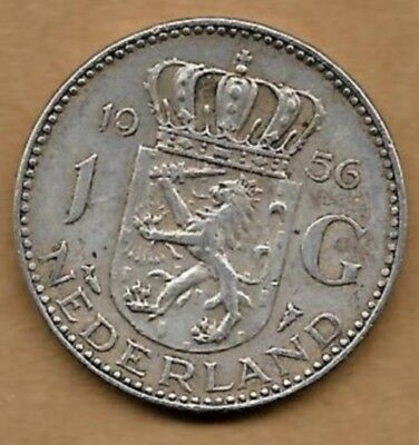 1 Gulden Argent 1956 Apariencia EstéTica