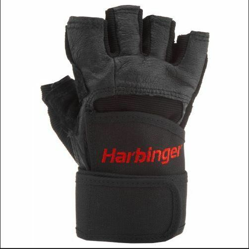 Harbinger Pro Wrist Wrap Weight leather lifting G s  for gym fitness training  with 60% off discount