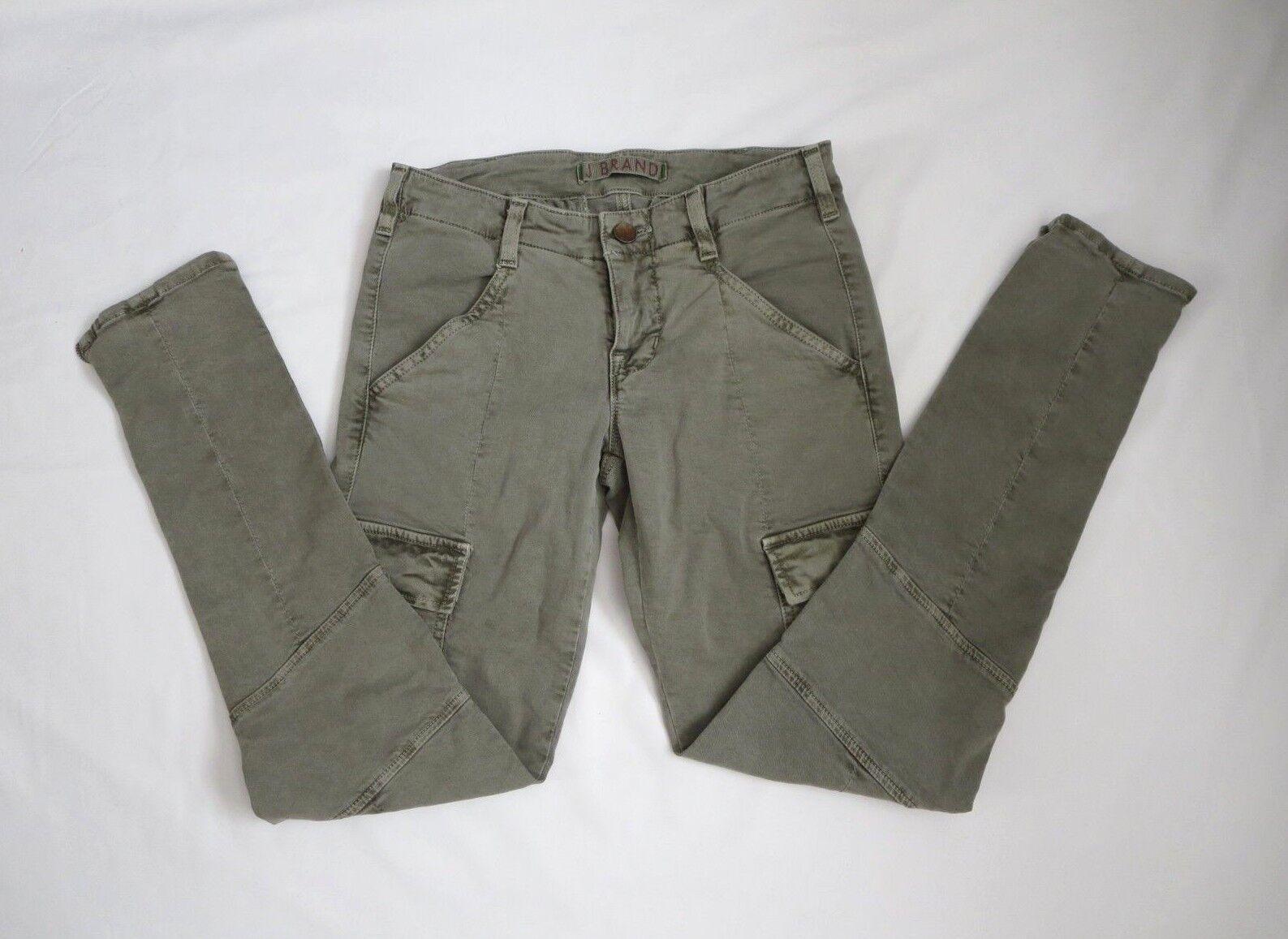 161660ab Brand Houlihan 1229 Vintage Taupe Skinny Cargo Size 25 Jeans J  orggom3293-Jeans
