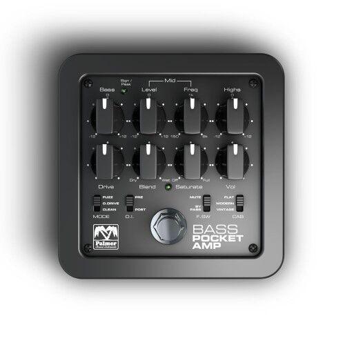 New Palmer Pocket Amp Bass Guitar Effect Pedal Amplifier Simulator