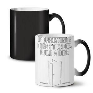 Life Opportunity Funny NEW Colour Changing Tea Coffee Mug 11 oz | Wellcoda
