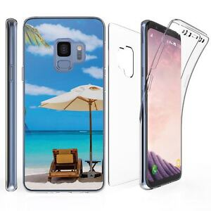 For-Samsung-Galaxy-S9-Full-Coverage-Front-Back-Protector-Case-Beach
