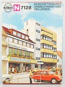 KIBRI-Spur-N-B-7128-Geschaeftshaus-Sindelfingen-nur-1-Haus-Bausatz-OVP-lesen