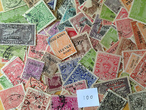 1000-Different-Indian-States-no-Nepal-Stamp-Collection