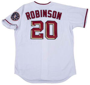 huge discount 49d2c 92f9f Details about FRANK ROBINSON Washington Nationals 2006 Majestic Throwback  Home Baseball Jersey