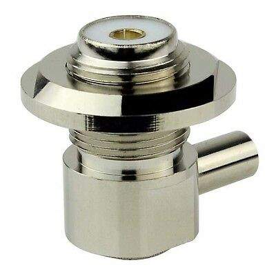 Car Radio Feeder  50-3 Cable Corner/Right Angle RF Coaxial Connector Adapter