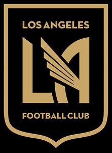 Details About Set Of 2 Mls Lafc Los Angeles Football Club Vinyl Die Cut Sticker Soccer