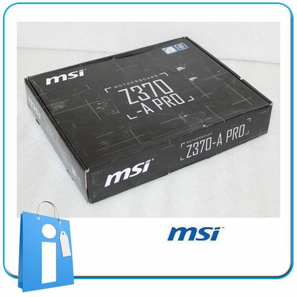 Placa base ATX Z370 MSI Z370-A PRO Socket 1151 con Accesorios