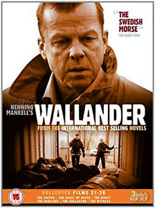 WALLANDER-COLLECTED-FILMS-21-26-DVD-Box-Set-Krister-Henriksson-UK-Release-New-R