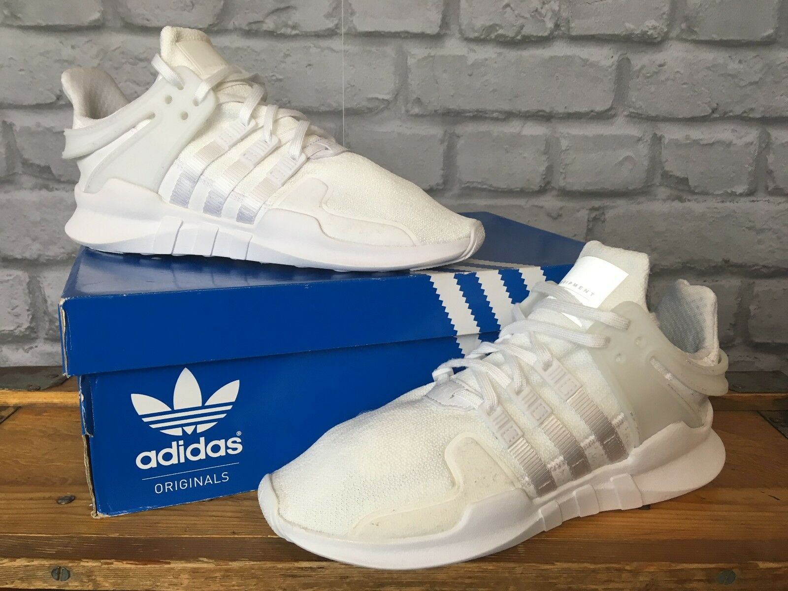 ADIDAS UK 5.5 EU 36 2/3 ORIGINALS EQT SUPPORT ADV TRAINERS CHILDRENS
