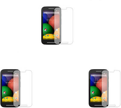 3 X Clear Screen Protector Guard Film For  Motorola Moto E / XT1021