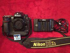 Nikon D2Xs 12.4 MP Digital SLR Camera w/Nikon MH-21 Charger, Only 24,164 Clicks!