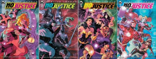 Justice League No Justice #1-4 Complete Set DC comic 1st Print Unread 2018 Mint