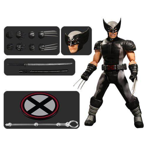 Mezco Nuevo  One 12 X-force Wolverine  X-men vistas previas Exclusivo Figura De Acción