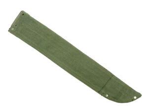Original-WWII-Canvas-British-Machete-Sheath-OD-Green-Free-Shipping