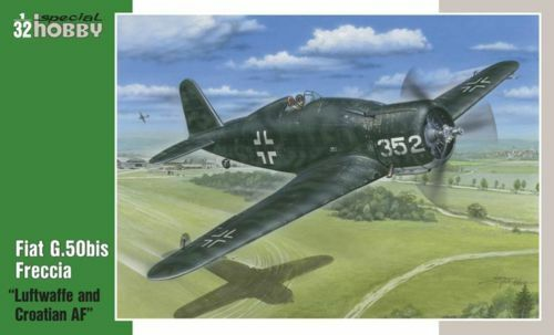 Special Hobby 1 32 Fiat G.50bis  Luftwaffe and Croatian AF