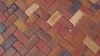 QUITO TUMBLED CLAY BRICKS 4X8X1 SUSTAINABLE PRODUCT MADE WITH NATURAL CLAY