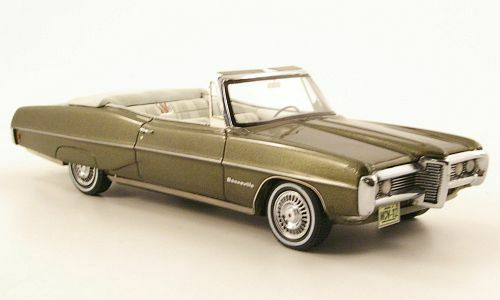 wonderful modelcar Pontiac Bonneville Convertible 1968 - greenmetallic - ltd.300