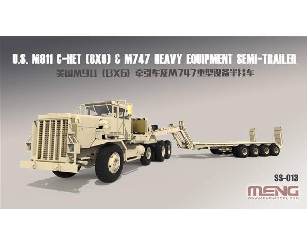 HommesG US M911 C-HET (8x6) & M747 SEMI-TRAILER 1\35 SS013   magasin d'offre