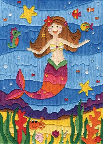 1x Kit Punto Largo Sirena Costura Artesanía Herramienta Hobby Art Reino Unido a granel filoro