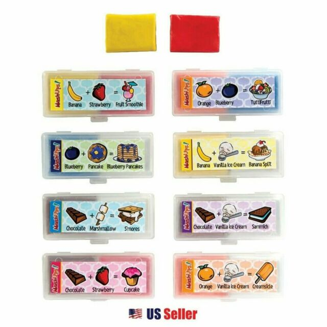 [8-in-1] Mash Ups Scented Kneaded Erasers Set