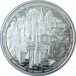 Münze Berlin Médaille Argent 999/1000 130 Gr Berlin - 130 G Silver Hcptua0x-07213224-755375856