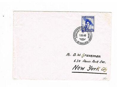 Mit Ef Minr new York 376 Mit Sst Duftendes In Aroma Schweiz Herrlicher Auslandsbrief In Die Usa