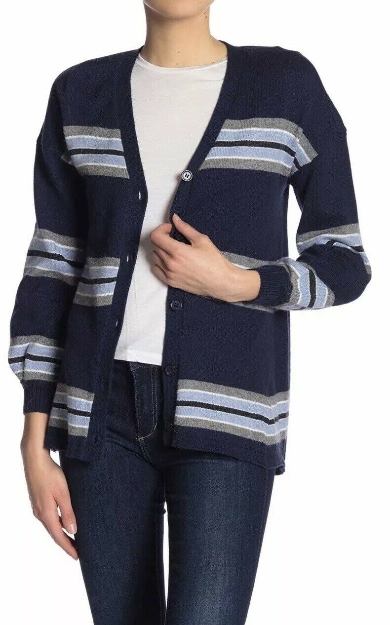 39cd91df1 Democracy Striped Small Size Cardigan yauu9cea74305-Sweaters - color ...