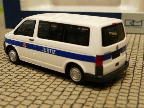 1//87 Rietze VW T5 Justiz Brandenburg 53446