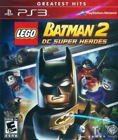 Lego Batman 2 Dc Super Heroes Greatest Hits Ps3