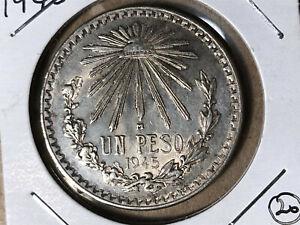 1945-Mexico-1-Peso-Silver-Coin