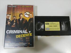 CRIMINEL-Y-DECENT-KEVIN-SPACEY-VHS-FILM-BANDE-COLLECTOR-CASTILLAN